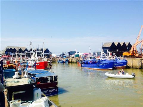 Whitstable Fishing Trawlers