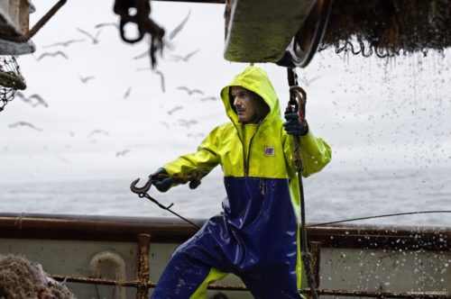 fishing oilskin Smock