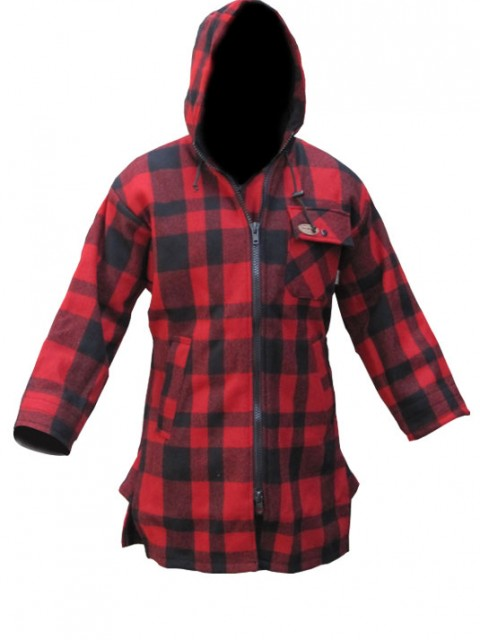 McKenzie Woollen Outdoors Bush Shirt – Red/Black