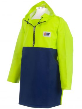 Fisherman's Crew 807 Heavy Duty Fishing Oilskin Smock angle