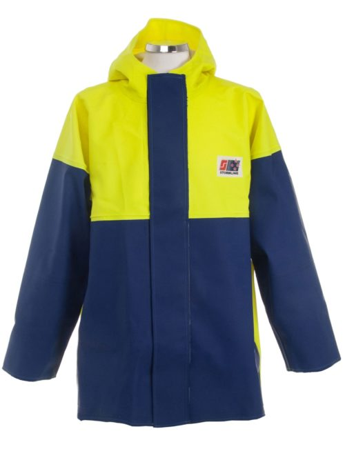Crew 211 Commercial Fishing Rain Gear Jacket