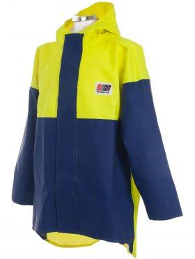 Crew 211 Commercial Fishing Rain Gear Jacket angle