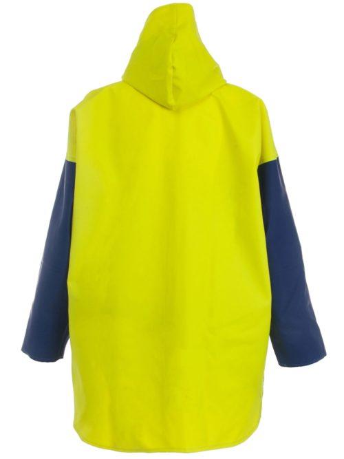 Crew 211 Commercial Fishing Rain Gear Jacket back