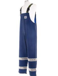 Coastguard 602 Lightweight Rain Gear Safety Pants Angle Shot