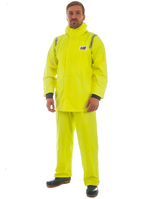 CAPTAIN'S 200N LIGHTWEIGHT CONSTRUCTION RAIN GEAR JACKET Model