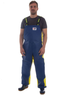Armour 674 Fisherman's Medium Weight Foul Weather Pants Model Shot
