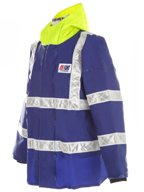 Coastguard ANSI safety jacket angle