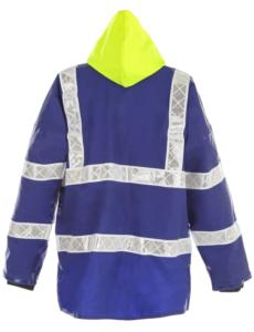 Coastguard ANSI safety jacket rear