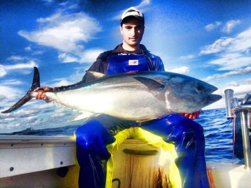 Tuna fishing foul weather gear pants