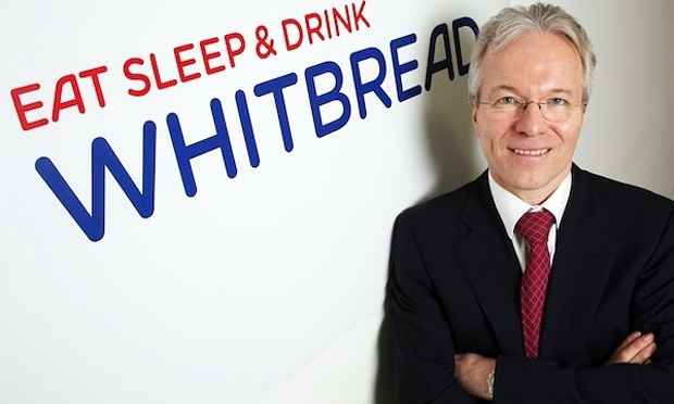 Andy Harrison boss of Whitbread, image credit The Guardian