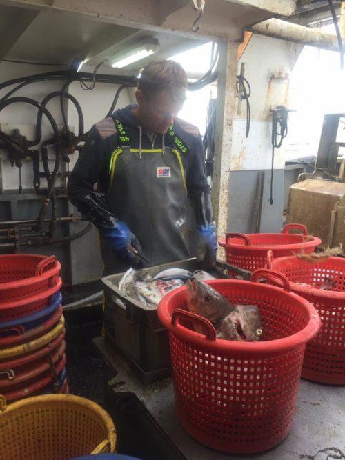 Fishing in Cornwall Foul Weather fishing pants