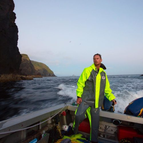 foul weather fishing jacket