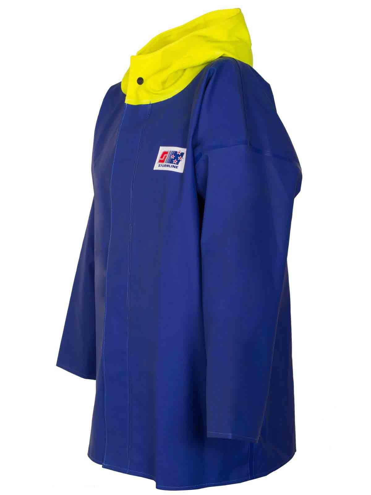 Stormtex 223 219 medium weight commercial rain jacket for Fishing rain suits