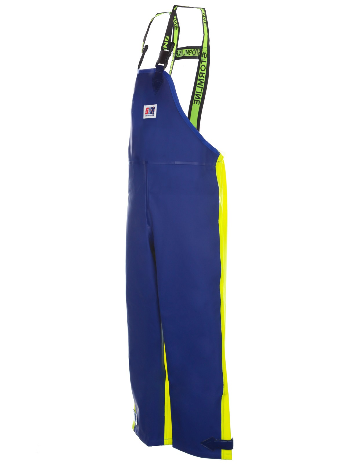 Crew 654 foul weather heavy duty bib and brace pants for Foul weather fishing gear