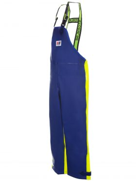 Crew 654 foul weather bib and brace angle