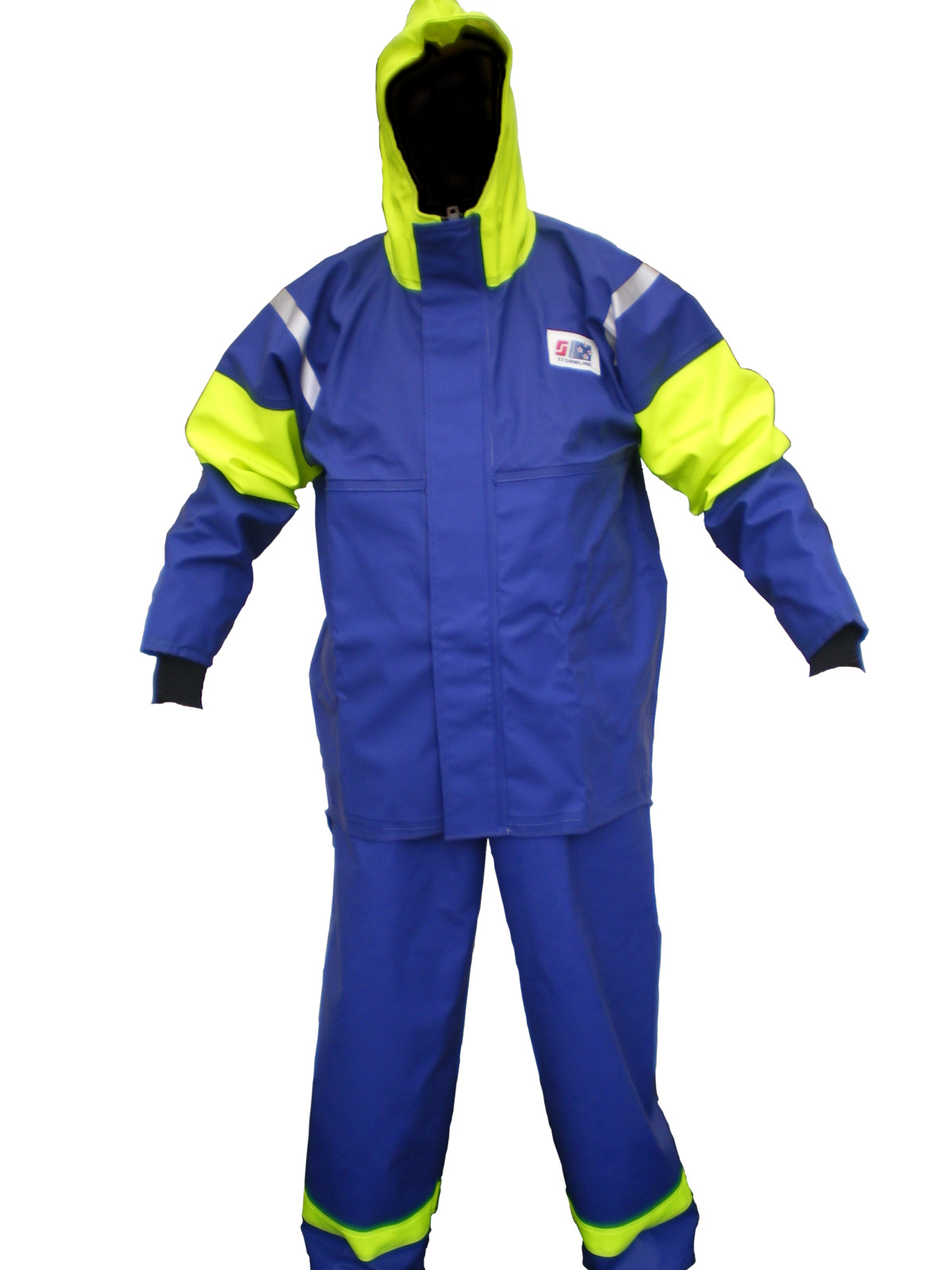 Crew 208 commercial fishing foul weather jacket stormline for Foul weather fishing gear