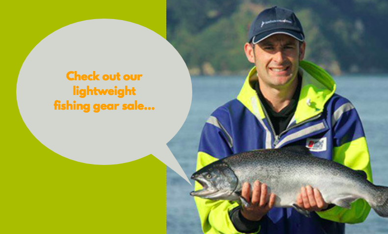 lightweight fishing gear sale