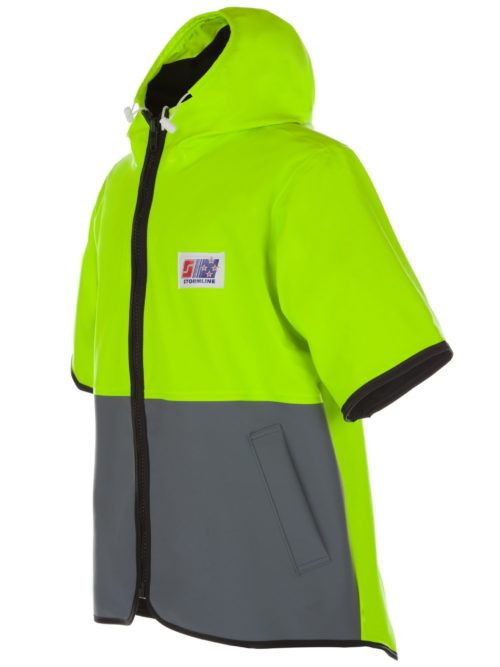 STORMTEX-AIR 979TN HOODED WET WEATHER VEST ANGLE