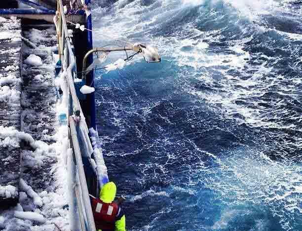 Stormline wet weather gear in action