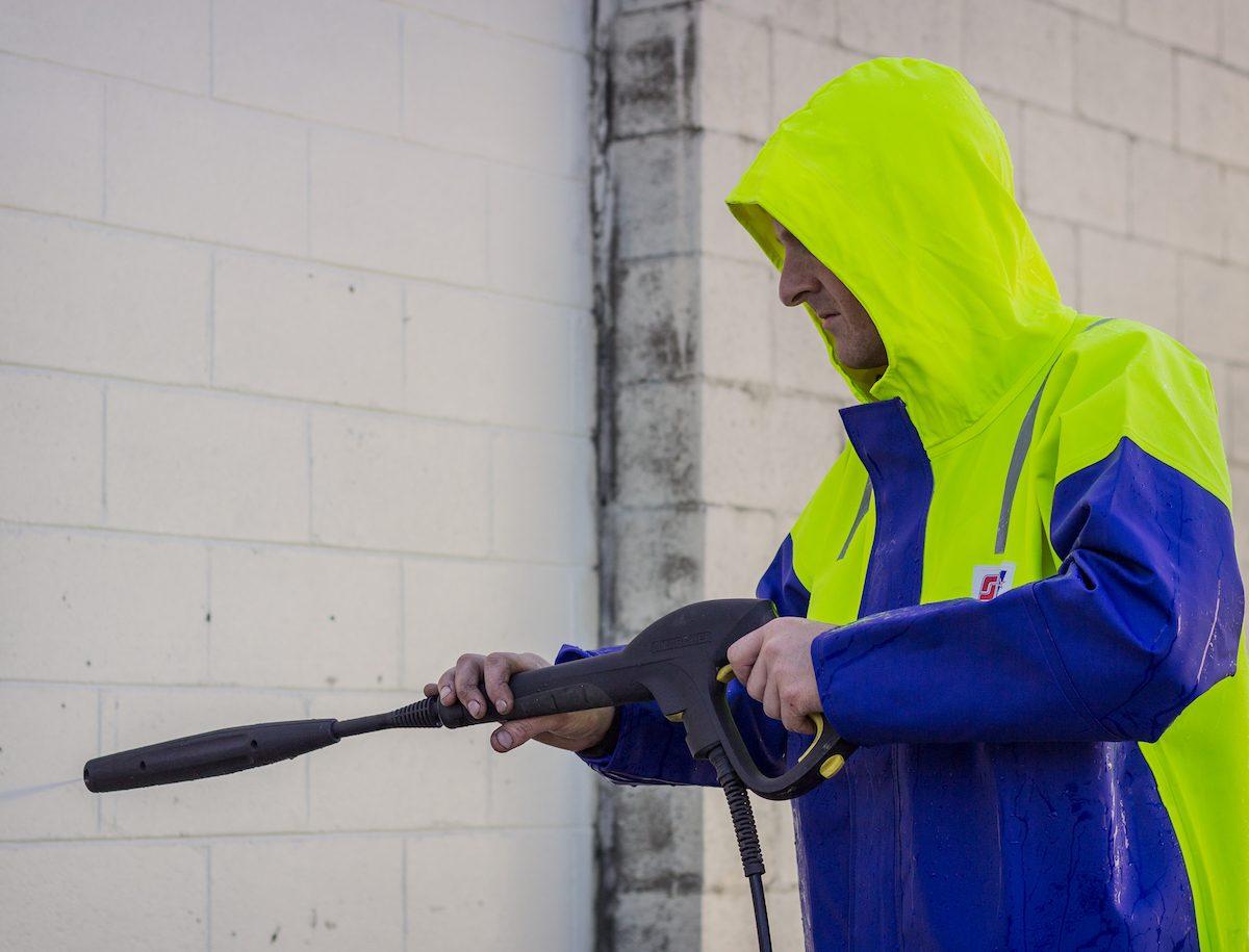 Crew 211 heavy duty foul weather jacket stormline for Commercial fishing gear