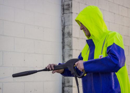 Crew 211 Commercial Fishing Rain Gear Jacket