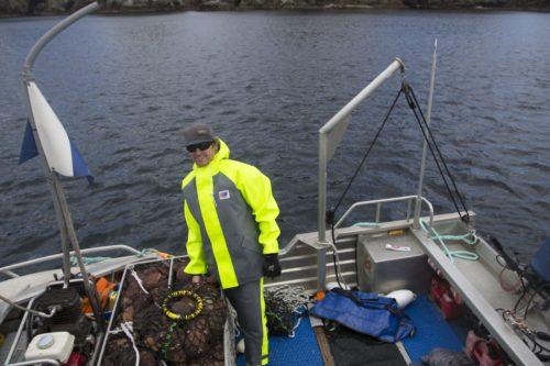 Milford 249 fishing oilskin jacket