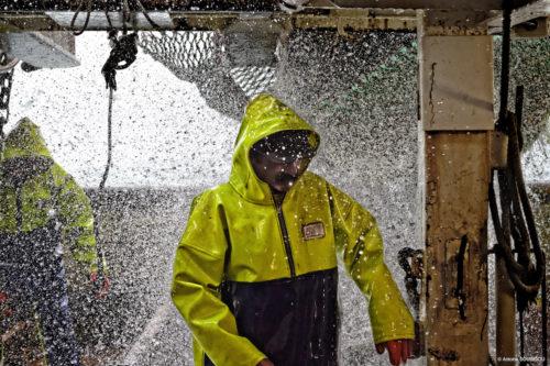 Stormline 807 heavy duty fishing oilskin smock
