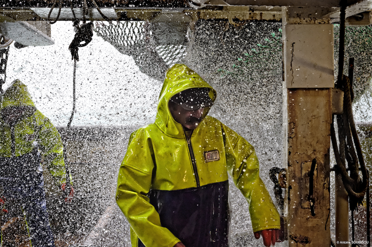 Stormline 807 heavy duty fishing oilskin smock