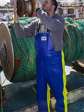 Crew 654 Commercial Fishing Raingear