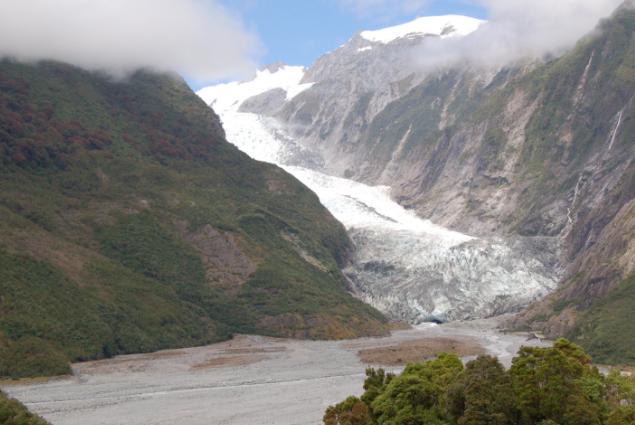 Franz Joseph Glacier, NZ