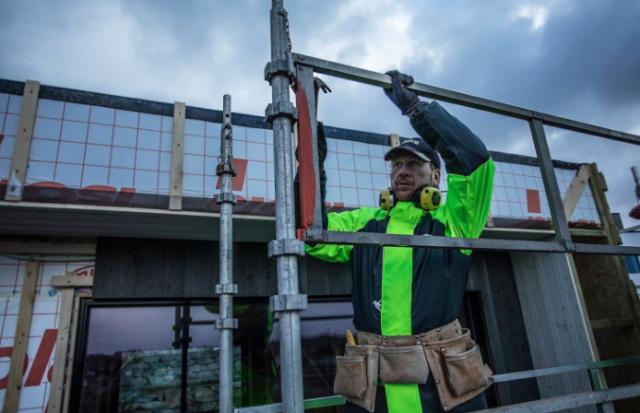 lightweight high visibility construction rain gear jacket