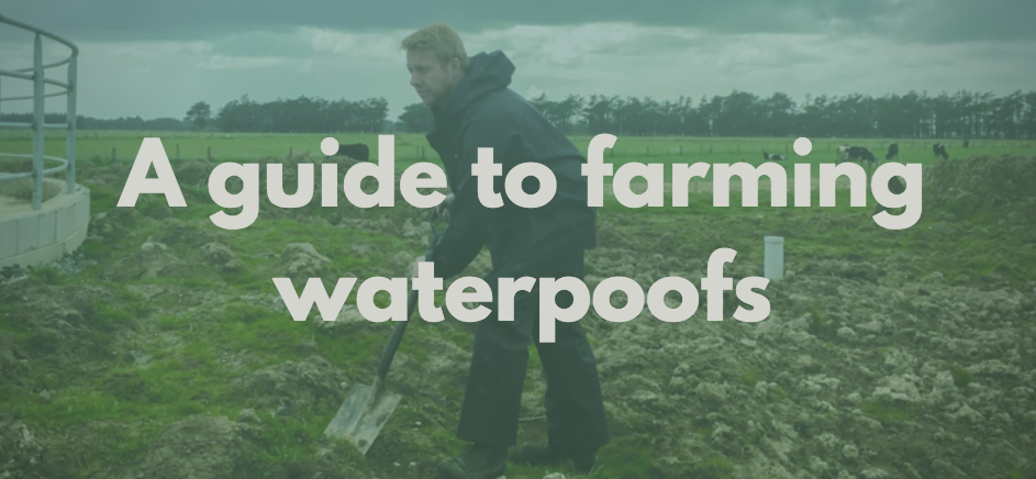 Farming waterproofs