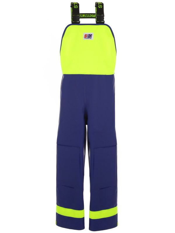Crew 640 PVC Fishing Waterproofs Bib Overalls