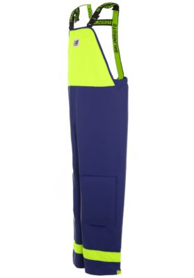 Crew 640 PVC Fishing Waterproofs Bib Overalls angle