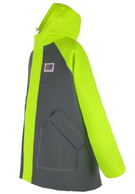 Milford 249 foul weather fishing jacket angle
