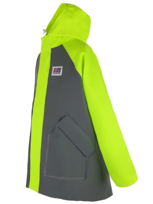 Milford 249 foul weather fishing jacket angle