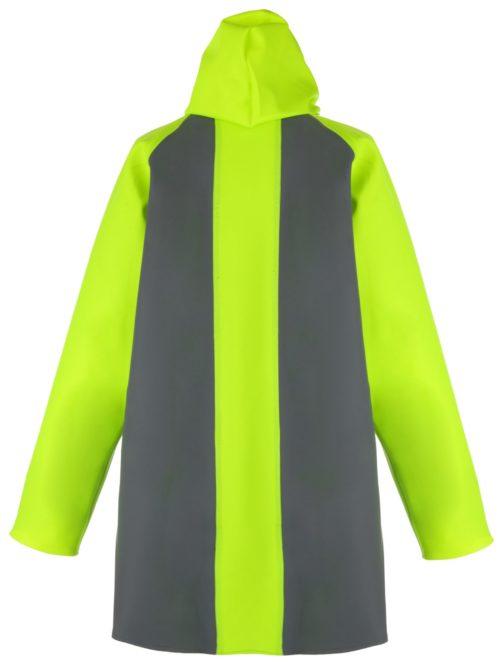 Milford 249 foul weather fishing jacket back