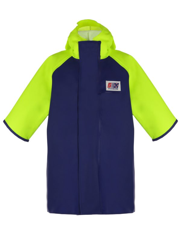 Crew 955 Short Sleeve PVC Rain Jacket