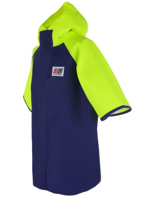 Crew 955 Short Sleeve PVC Rain Jacket angle