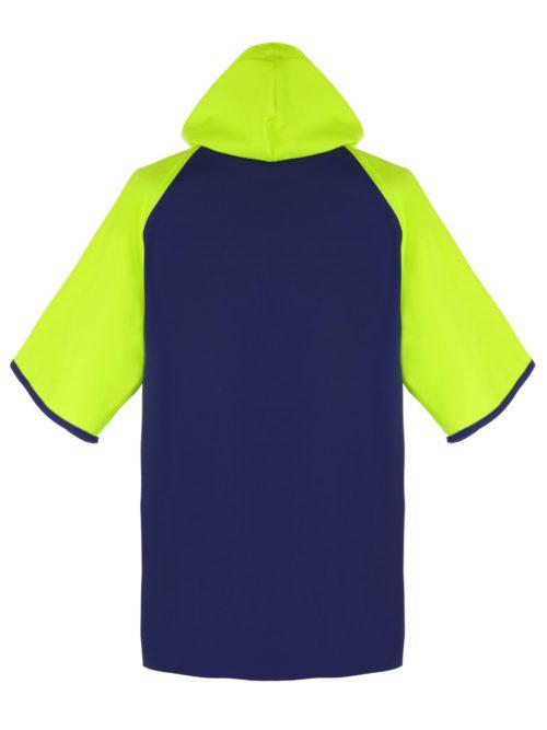 Crew 955 Short Sleeve PVC Rain Jacket back