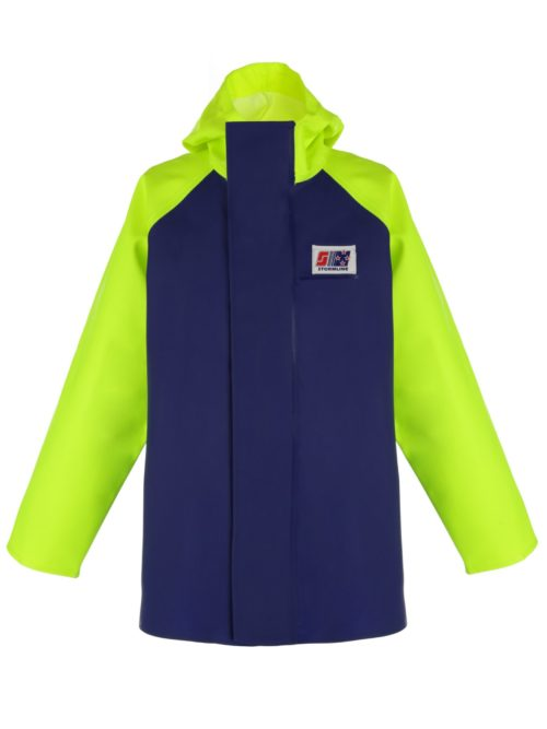 Crew 255 PVC fishing rain jacket