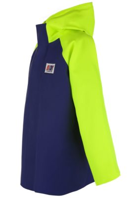 Crew 255 PVC fishing rain jacket angle