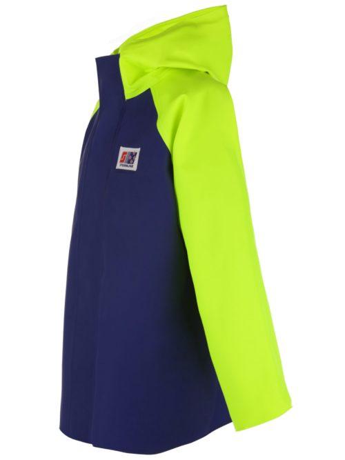 Crew 255 PVC fishing rain jacket angle