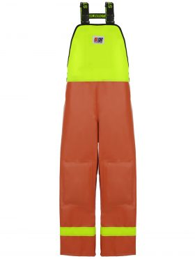 Nelson 656 PVC Waterproof Rain Gear Bib Overalls