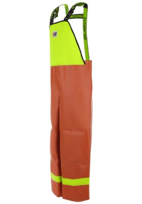 Nelson 656 wet weather gear bib angle