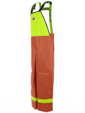 Nelson 656 PVC Waterproof Rain Gear Bib Overalls angle