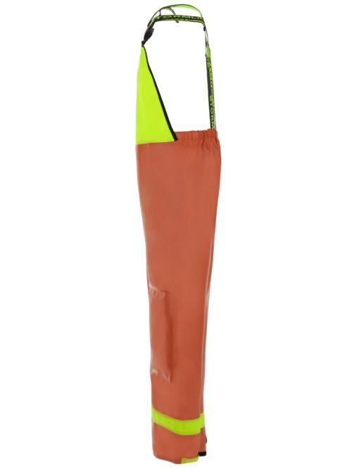Nelson 656 PVC Waterproof Rain Gear Bib Overalls side