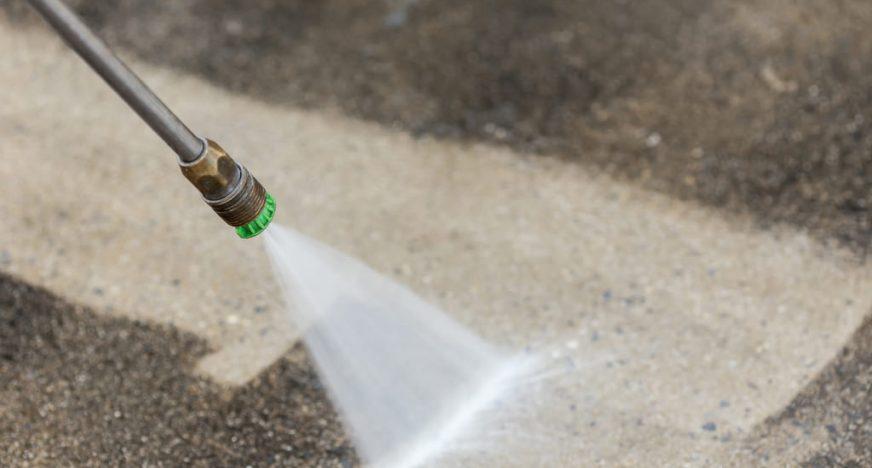 Pressure washing waterproofs