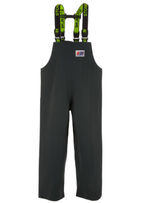 Nelson 648G PVC Rain Gear Bib and Brace Pants