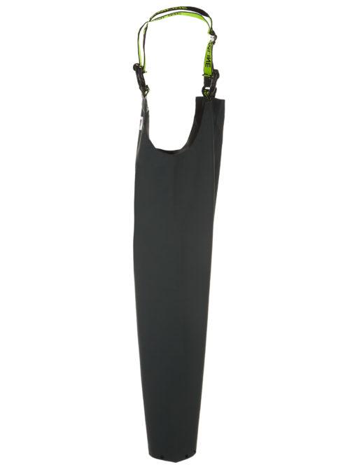 Nelson 648G PVC Rain Gear Bib and Brace Pants side